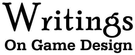 Writings on Game Design